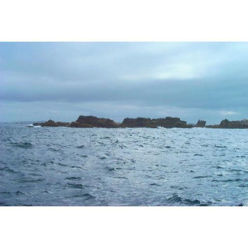 Rags Rocks - Western Rocks - Isles of Scilly - England - UK