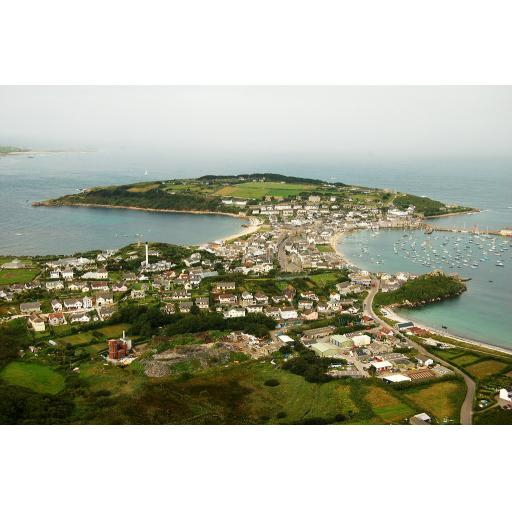 Hugh Town - St Mary's - Isles of Scilly - England - Uk