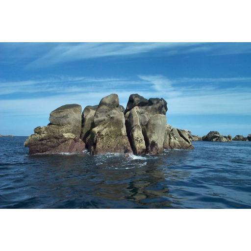 Trenemene Rock - Western Rocks - Isles of Scilly - England - UK